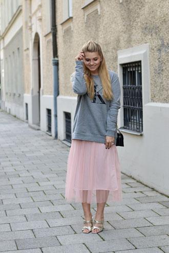 Outfitdetails: Tüllrock & Oversize Sweater