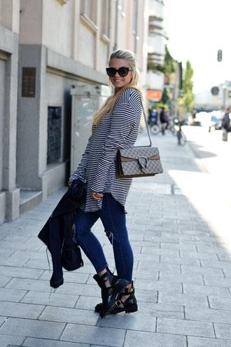 Sunday Look: Levis Jeans Jacket & Gucci Dionysus
